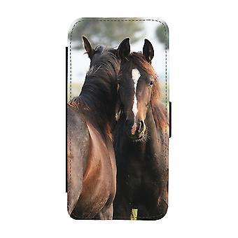 Brown Horses iPhone 11 Wallet Case