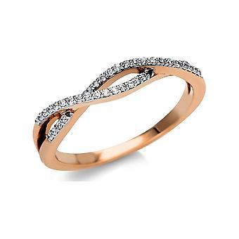 לונה יצירה Promessa טבעת מרובה אבן לקצץ 1U157R852-2 - רוחב טבעת: 52