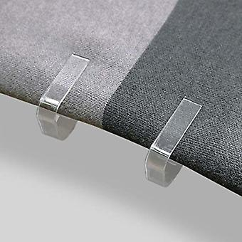 Clipe de pano de cobertura de mesa de plástico, grampo, suporte