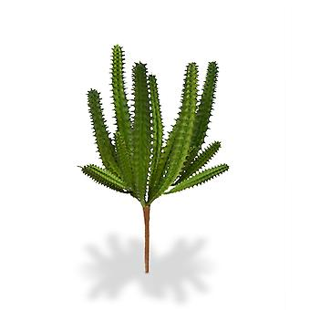 Kunstmatig Euphorbia Mini Cactus boeket 20 cm