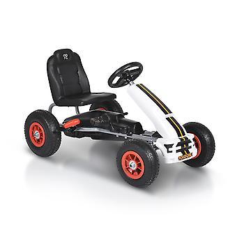 Moni Kids Gokart Nevada, Pedal Car, Freio de Mão na Roda Traseira, Pneu Inflável