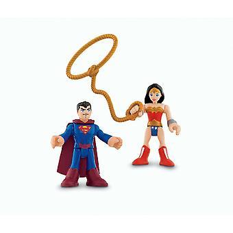 Imaginext dc super friends superman and wonderwoman