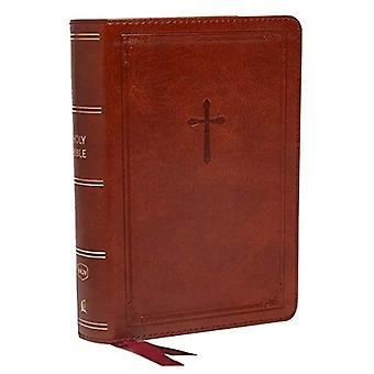 NKJV, End-of-Verse Reference� Bible, Compact, Leathersoft, Brown, Red Letter, Comfort Print: Holy� Bible, New King James Version