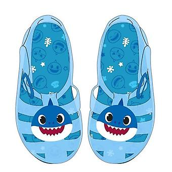 Children's sandals baby shark blue