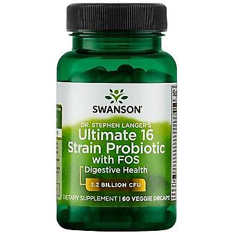 Swanson Dr. Stephen Langer's Ultimate Strain Probiotic with FOS 60 Vcapsules