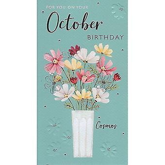 ICG Ltd October Birthday Card