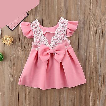 Детские платье, Принцесса кружева Туту партии Свадебные праздничные платья