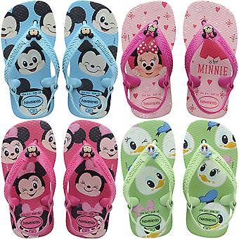 Havaianas Niños Bebé Disney Classic Summer Beach Sandalias Flip Flops
