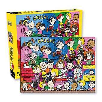 Peanuts cast 500pc puzzle