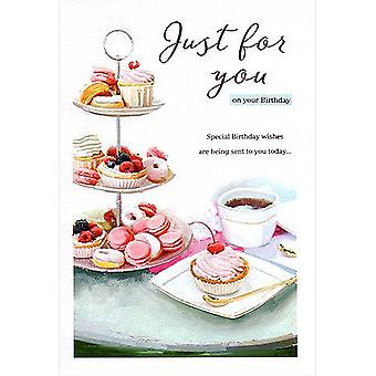 ICG Ltd Open Birthday Card Essence Range - Cake Stand