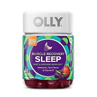 OLLY Muscle Recovery Sleep Gummies - Berry Rested