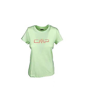 CMP Cotton T-Shirt 30D6536P, Woman, Leaf, D46