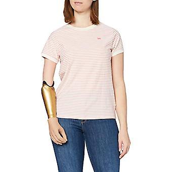 Lee Stripe Tee T-Shirt, La Pink, S Donna