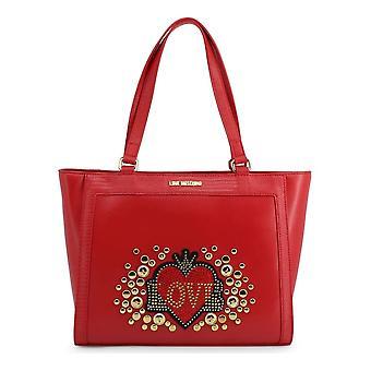 Love Moschino - Bags - Shopper - JC4106PP18LT-0500 - Women - Red