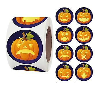 Pegatinas de 500 pegatinas - Motivo de Halloween - Dibujos animados