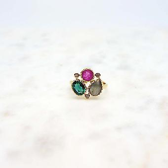 Ring Woman Niiki Paris - NCR135 - multicolored - Collection Colors
