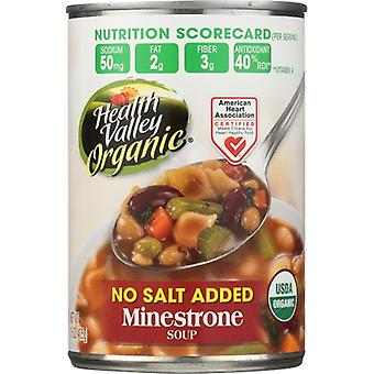Health Valley Soup Minestrone Ns Org, Case of 12 X 15 Oz