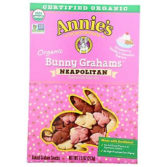 Annie's Homegrown Cookie Bny Grm Neopltn Or, Case of 12 X 7.5 Oz