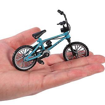 Mini Tamanho Simulação de Alloy Finger Bike Crianças Funnt Mini Finger Bike Brinquedo