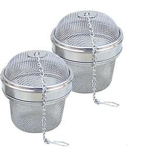 1 Pcs New Essential Stainless Steel Ball Tea Infuser Mesh Filter