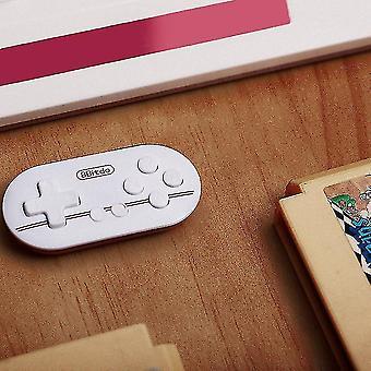 8bitdo Zero Mini Controller Portable Bluetooth White Wireless Gamepad