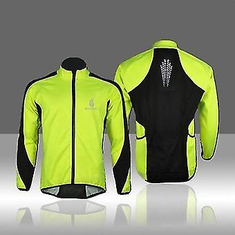 Cyklistické cyklistické dresy wolf fleece thermal cycling dres s dlouhým rukávem zimní venkovní sportovní bunda větruodolný větrný kabát cyklus nosit oblečení 3xl