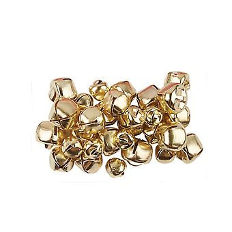 30 Gold 8mm - 12mm Assorted Size Jingle Bells for Crafts