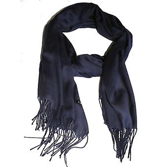 Marinblå sjal scarf