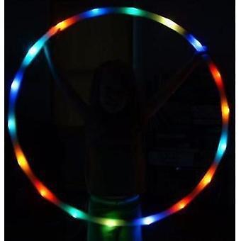 Led Colorato Hula Hoop, Cerchio che cambia la luce Illumina cerchi led per bambini e adulti (colorato)