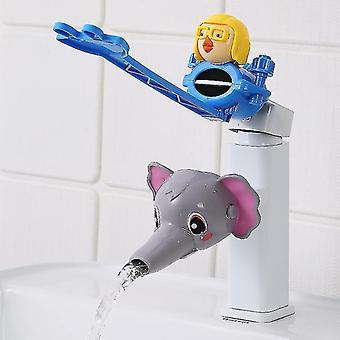 Cartoon Water Tap Extender Lavage des mains pour bébé Robinet Extension Tuyau d'eau anti-éclaboussures (#05)