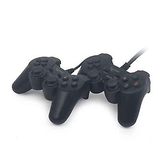 Gaming Control GEMBIRD Dual Gamepad PC Black