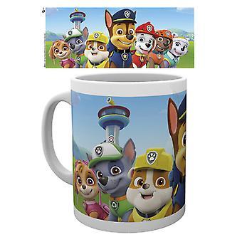 Pfote Patrol Gruppe Mug