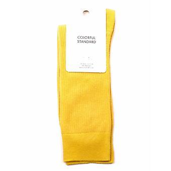Colorful Standard Classic Organic Socks - Burned Yellow