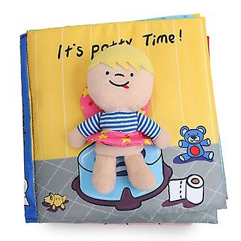 Toddler Early Learning Develop Cognize Reading Puzzle Book Toys Infant Quiet Book For Kids