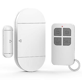 أنظمة إنذار المنزل 130 ديسيبل 433mhz اللاسلكية الاستشعار المغناطيسي المنزل الباب نافذة إدخال إنذار إنذار السرقة