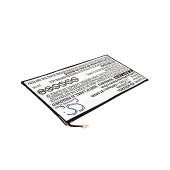 Cameron Sino 5700mah Battery Pr-279594n For Acer A5008, Iconia One 10 B3-a20,