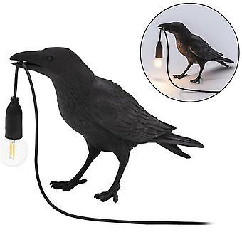 Vogel Lampe Harz Krähe Led Licht Schlafzimmer Wand Wandleuchte Lampe Tisch Wohnzimmer Kunst Dekoration