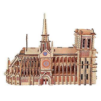 ヴェナリサ239pcs大木製3Dパズルノートルダム・ド・パリ