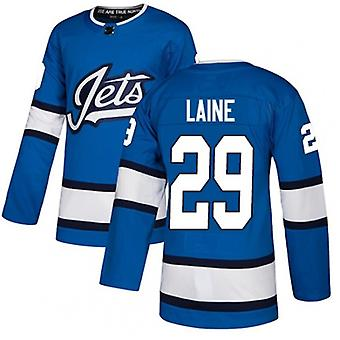 Men's Hockey Jerseys Jets 26 Wheeler 29 Laine 55 Scheifele Jersey Movie Ice Hockey Jersey 90s Hip Hop Clothing For Party Stitched Letters S-3xl