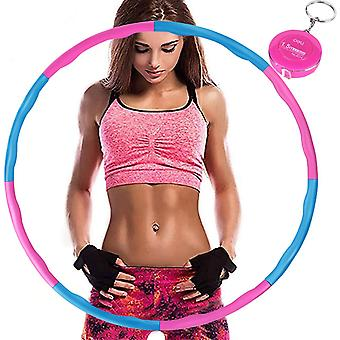 Hula Hoop,with Mini  Tape Measure, Adjustable Weight Weighted