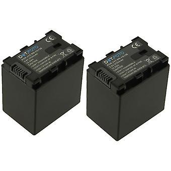 2 x Dot.Foto JVC BN-VG138 erstatningsbatteriet - 3.6v / 3750mAh