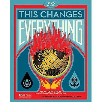 This Changes Everything [Blu-ray] USA import