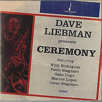 Dave Liebman - Ceremony [CD] USA import