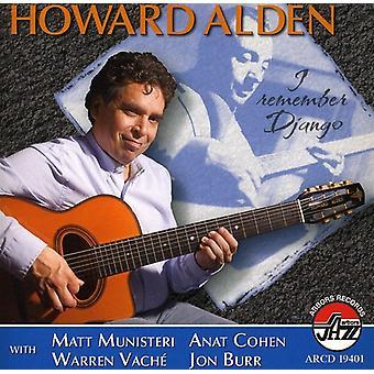 Howard Alden - I Remember Django [CD] USA import