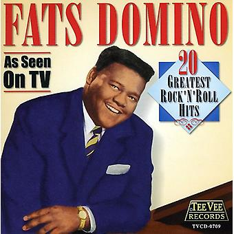 Fats Domino - 20 Greatest Rock N' Roll Hits [CD] USA import