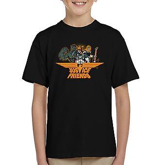 Dexters Laboratory Justitie vrienden Kid's T-Shirt