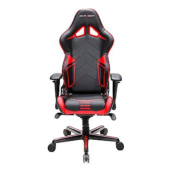 DX Racer DXRacer OH/RV131/NR High-Back Gaming Chair Carbon Look Vinyl+PU(Black/Red)