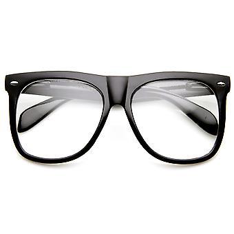 انعقدت القرن كبيرة جريئة المتضخم معدلة واضحة عدسة النظارات الشمسية