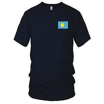 Drapeau National du pays de Palau - Logo - brodé 100 % coton T-Shirt Kids T Shirt