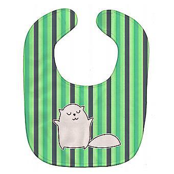 كارولين الكنوز BB6856BIB القط الأخضر المشارب مريلة بيبي